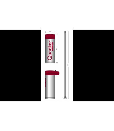 Quooker Pro 3 met Flex 3-in-1 kraan chroom wegmengkraan